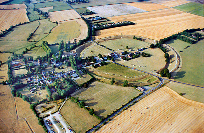 Avebury Air View