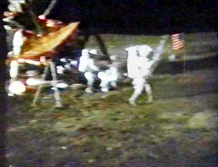 Apollo 14 TV frame