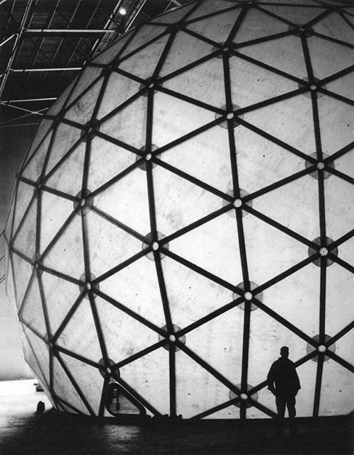 Geodesic-style dome