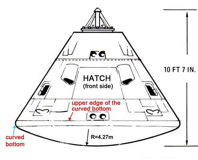 Apollo Investigation, Why was the Apollo CM Much Lighter ...