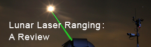 Lunar Laser Ranging