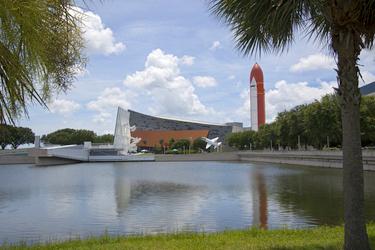 Atlantis at KSC