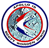 apollo 15 badge