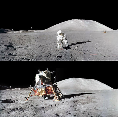 Apollo 17 composite