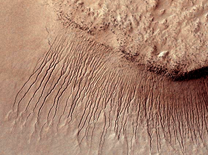 Water flows on Mars