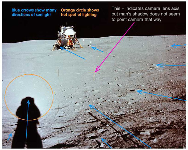 the three controversial hoax theory on the apollo 11 moon landing Moon landing conspiracy theories are almost as old as the apollo program itself here are three of the most moon landing anniversary: apollo 11 mission in.