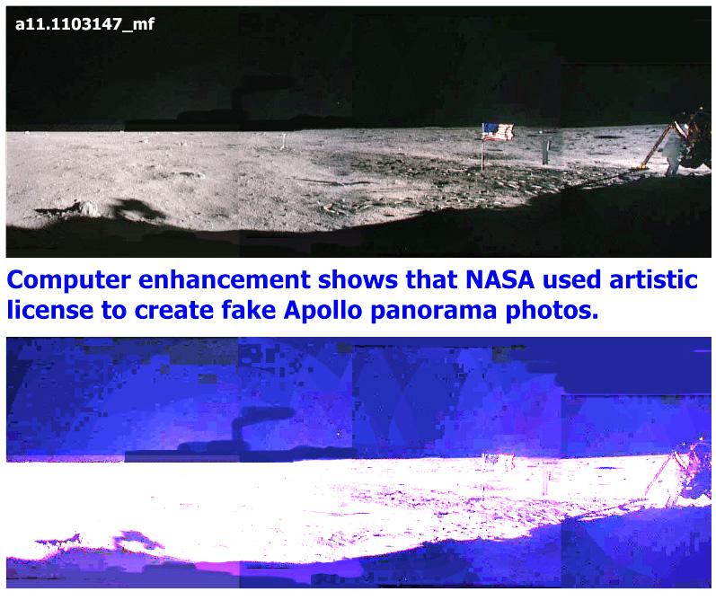 Výsledok vyhľadávania obrázkov pre dopyt hoax Apollo 11