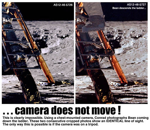 use of tripod on moon
