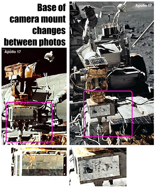 camera mount changes