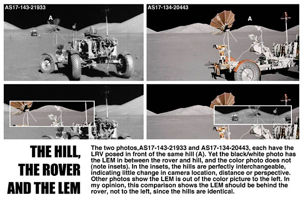 The Hill, the rover, the LEM